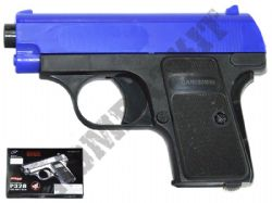 P328 Compact Airsoft BB Gun Black and Blue